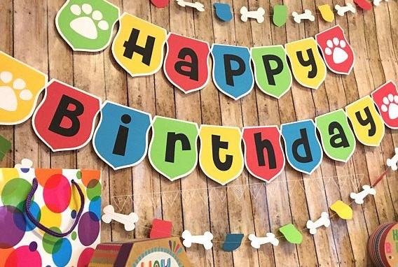 dog themed birthday party 1